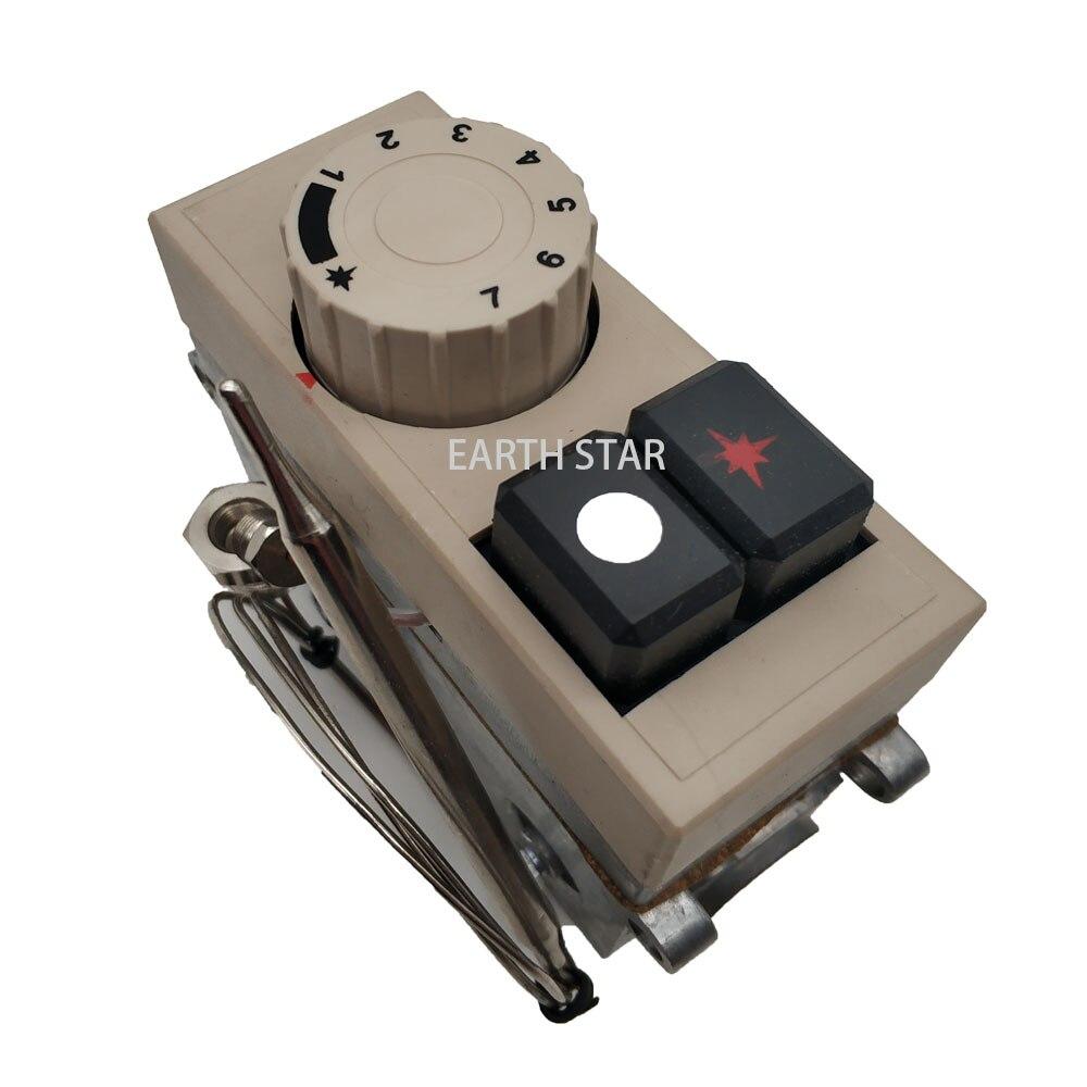 Terre Étoile Modèle 710 minisit thermostat de friteuse à gaz soupape de commande 120-200 degré gpl thermostatique vannes