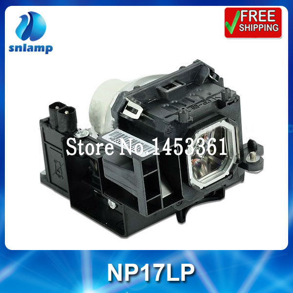 ФОТО Replacement compatible projector lamp bulb NP17LP for NP-P350W NP-P420X M300WS M350XS M420X