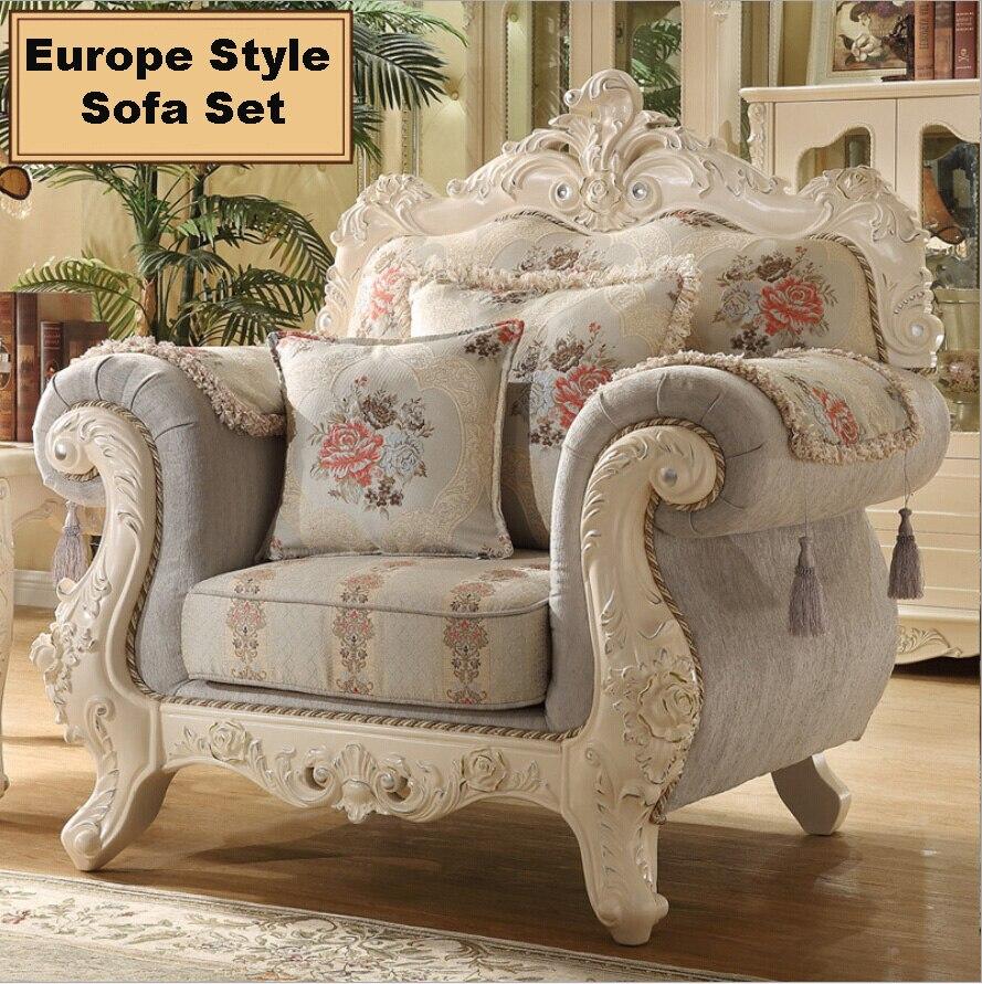 Webetop Combinaci N Sof De La Sala Muebles De Madera Maciza  # Muebles Tallados A Mano
