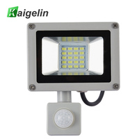 Genuine Kaigelin AC 220V 20W Infrared Senor LED Flood Light 10 LED SMD 5730 2200LM Floodlight