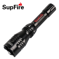 Amazi LED Flashlight Telescopic Zoomable Torch USB Charger Super Bright Strong Light 5 Modes L2 T6