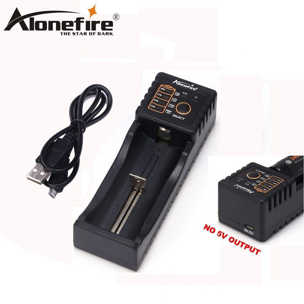 AloneFire MC100 18650 Battery Charger For 26650 16340 CR123 LiFePO4 1.2V Ni-MH Ni-Cd Rechareable Battery no 5V output AloneFire MC100 18650 Battery Charger For 26650 16340 CR123 LiFePO4 1.2V Ni-MH Ni-Cd Rechareable Battery no 5V output