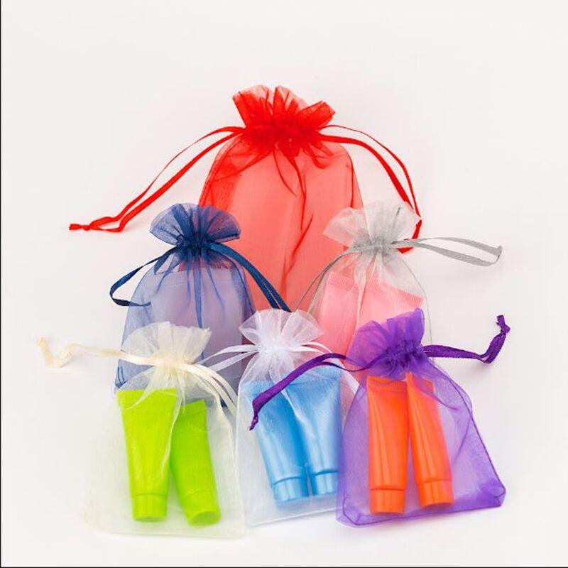 100pcs Packaging Pouches Bag Organza