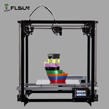 High Accuracy 3D Printer Build Size 260*260*350 mm Large Auto Leveling 3D Printer Support Touch Screen