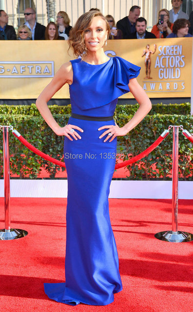 Electric Blue Celebrity Dresses