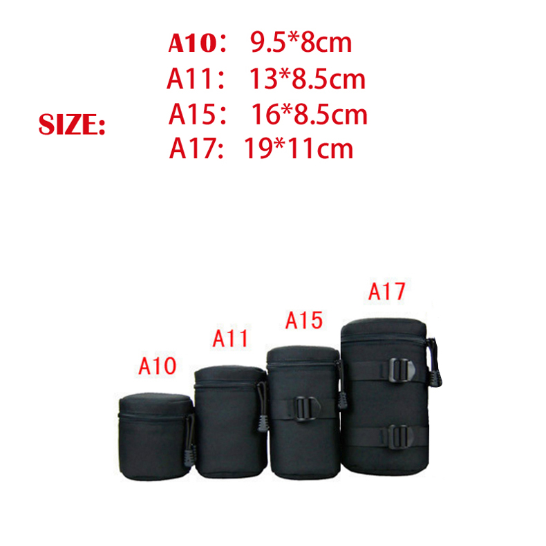 Jealiot Universal Waterproof Protective bag for the Camera Lens Bag digital DSLR camera Case Cover Pouch For Canon Nikon sony 1