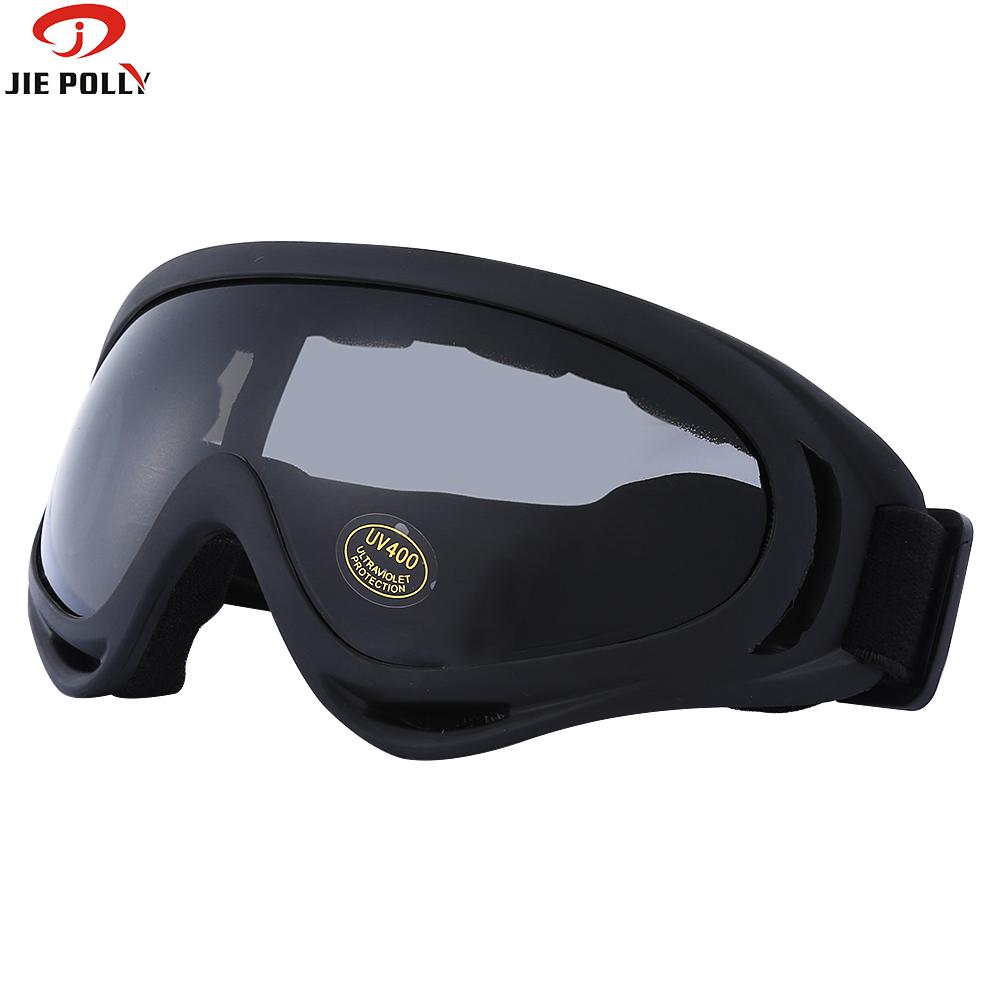 Jiepolly Motorcycle Sunglasses MX Mask Goggles Cycling Mountain Bike Riding Sunglasses Windproof Dust-proof 5 Color For Opinion