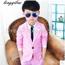 High-quatity classic formal dress kids blazers jackets boys wedding sui