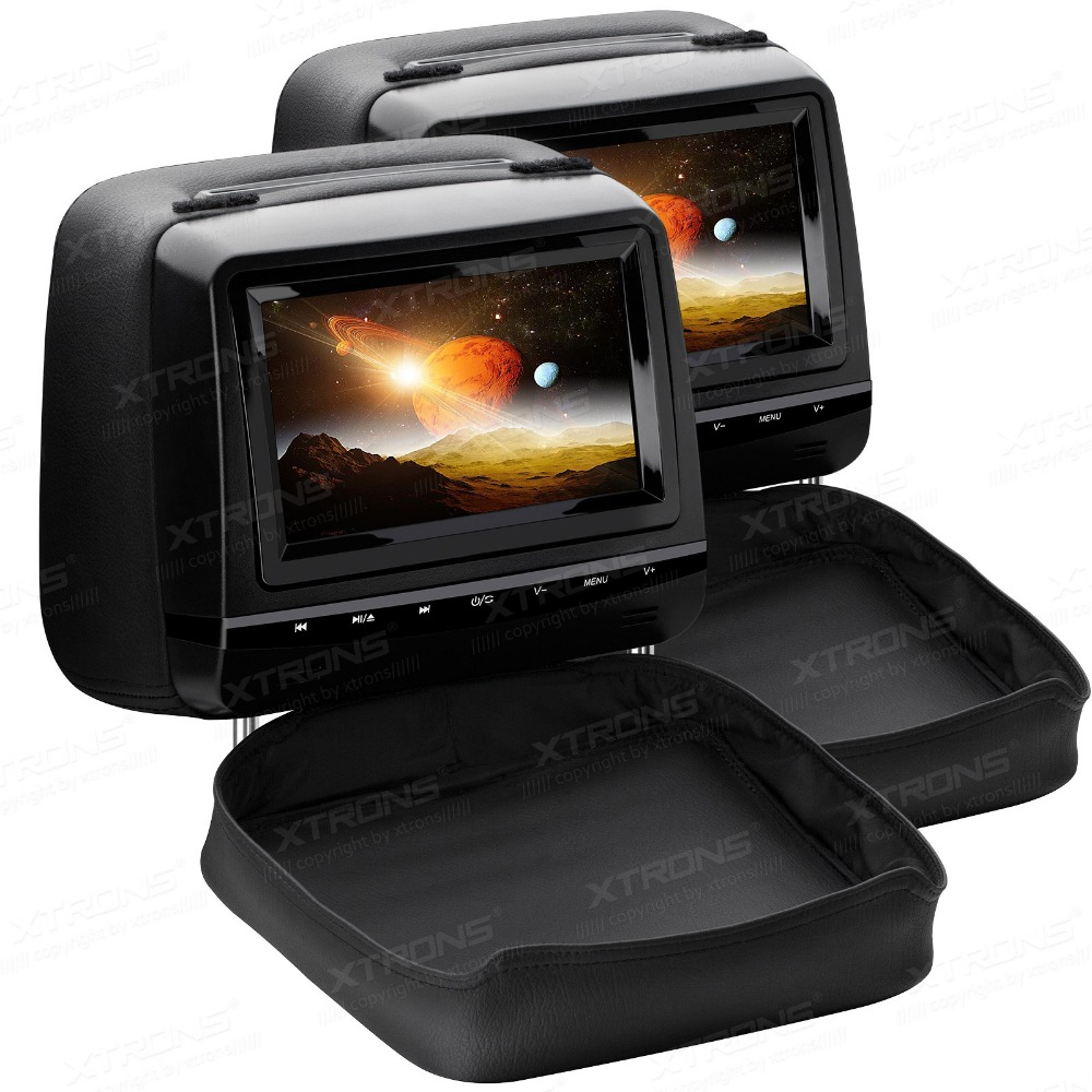 """Aliexpress.com : Buy 2x7"""" Touch Panel Car Headrest DVD"""