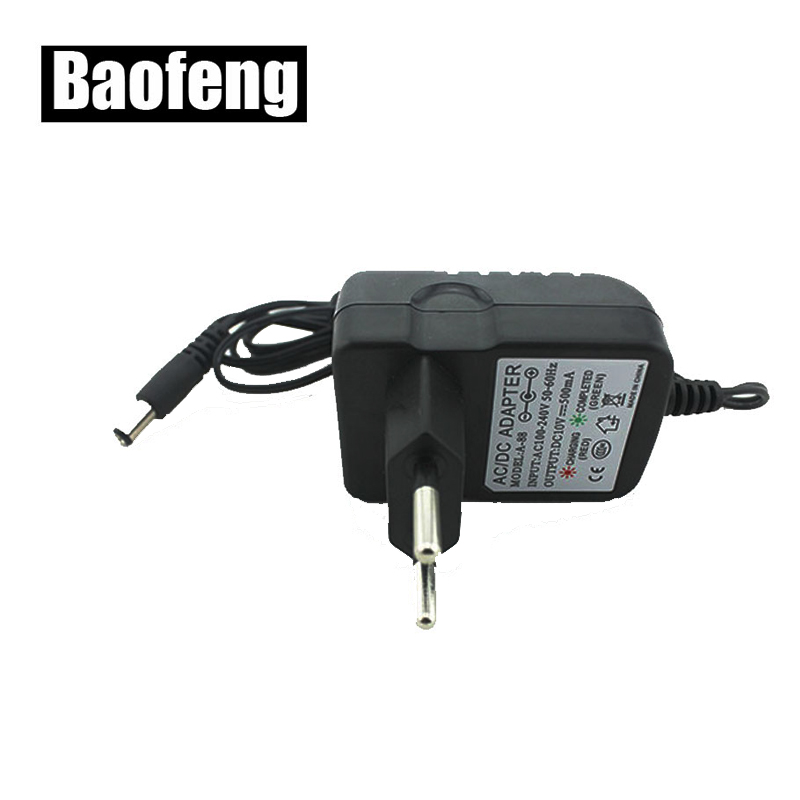 New Original Charger Fit For BAOFENG UV-B5 B6 5R Two Way Radio With Free Shipping (round Plug)