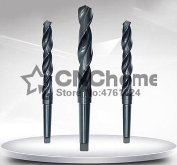 1pcs HSS 34/34.5/35/35.5/36/36.5/37mm Diameter Electric Taper Shank Twist Drilling Drill Bit , HSS high speed steel drill bit