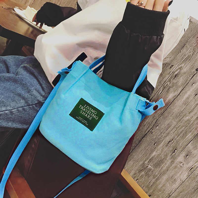 2019 卸売女の子女性のキャンバスハンドバッグシングルショルダーバッグアウトドアスポーツキャンプハイキング旅行市ジョギングバッグパーツ