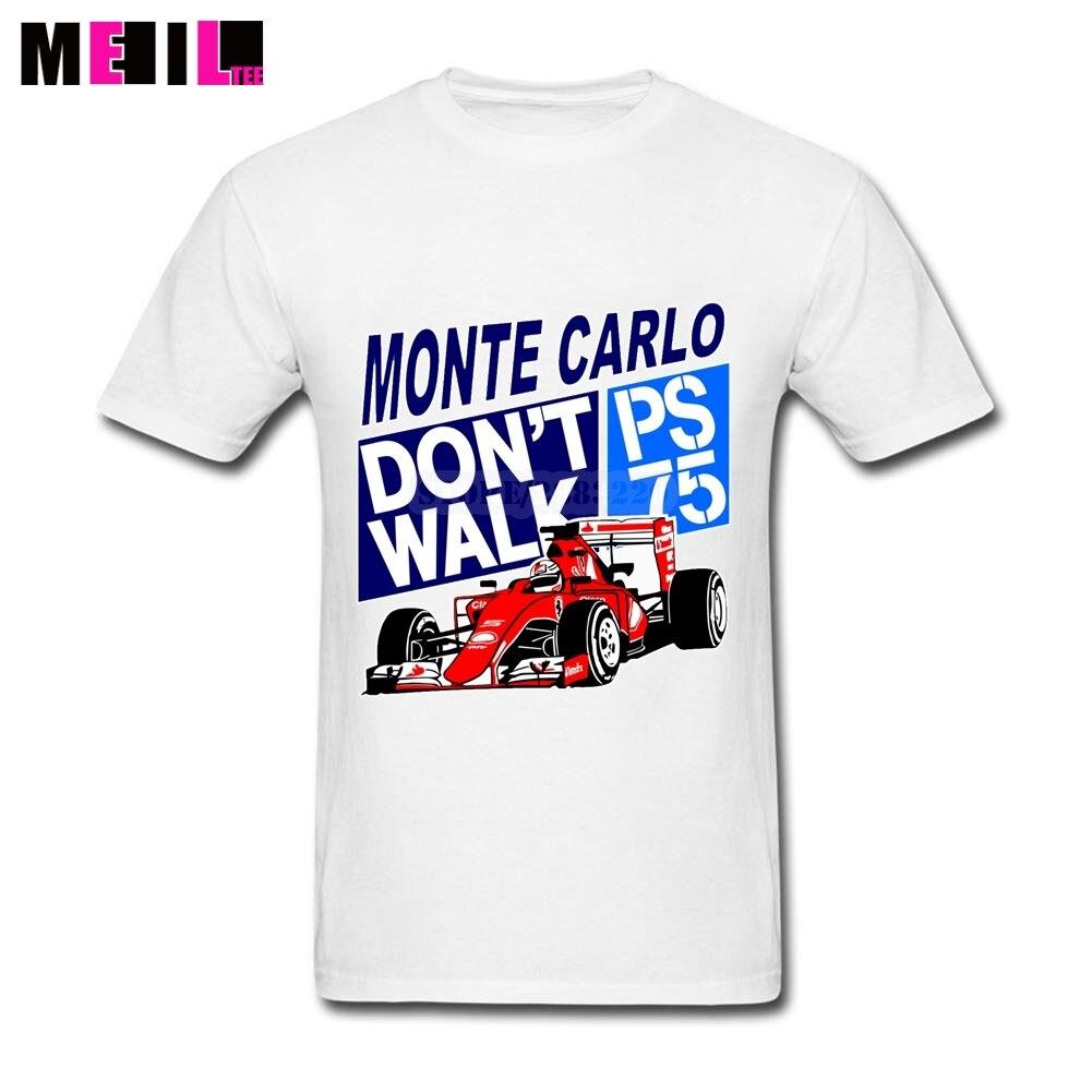 Desain t shirt racing - Pria Formula 1 T Kemeja Racing Logo Tee Kemeja Besar Ukuran Kustom Balap Mobil T Shirt O Leher Kemeja Lengan Pendek Desain