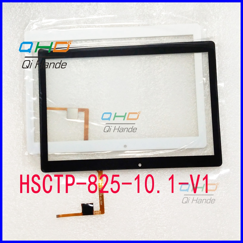 1Pcs/Lot free shipping Suitable for HSCTP-825-10.1-V1 touch screen handwriting screen digitizer panel Replacement Parts free shipping wgj10108 v1 touch screen touch screen handwriting 10pcs lot