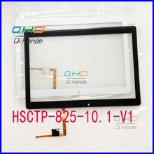 1Pcs/Lot free shipping Suitable for HSCTP-825-10.1-V1 touch screen handwriting screen digitizer panel Replacement Parts