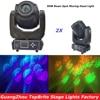 Free Shipping 2xLot 90W Led Moving Head Spot Light LCD Display Good Quality High Brightness 90W