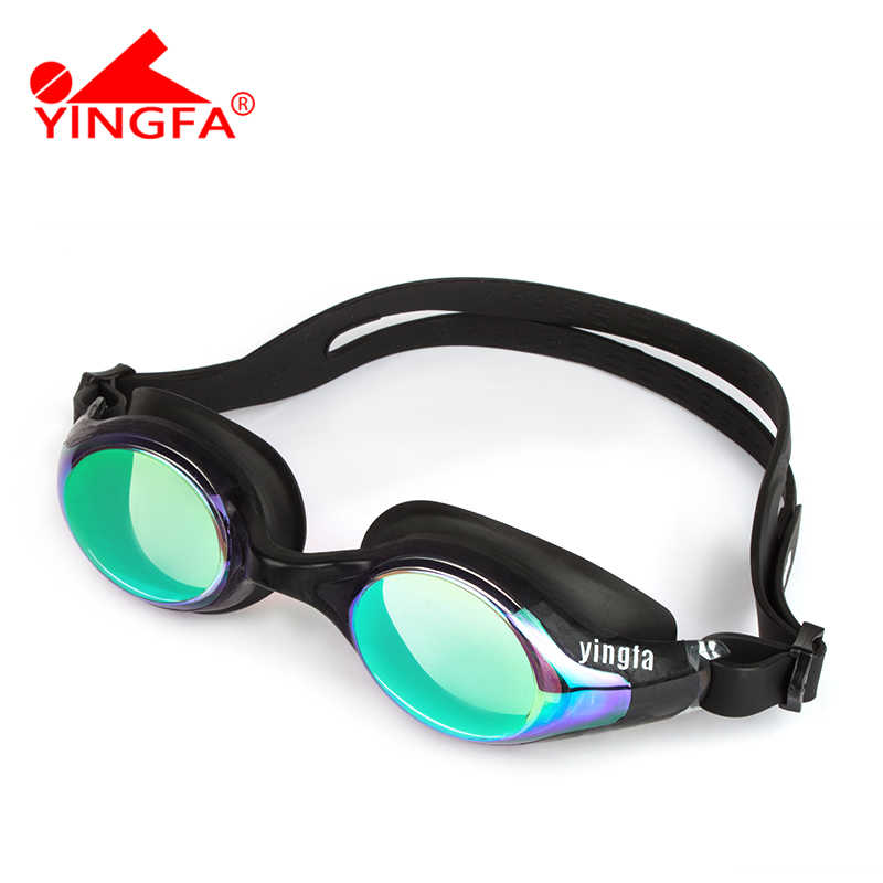 Swimming Professional Glasses Arena Racing Game Swimming Anti-fog High definition Swim Glasses YINGFA Colorful Swimming Glasses