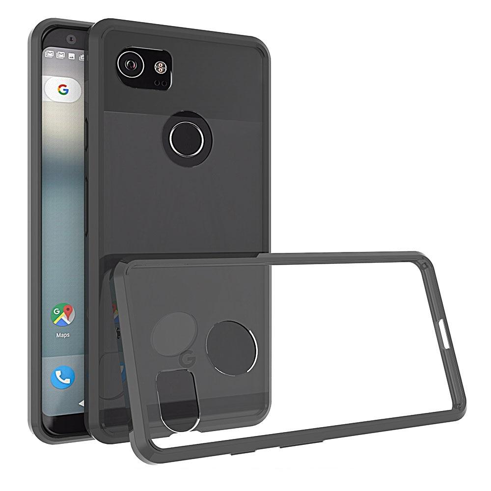 For Google Pixel 2 Xl Case Transparent Armor Shield Shockproof Imak Crystal 1st Series Sony Xperia M4 Aqua Hardcase Transparant 2xl Slim Tpu Hard Pc Back Anti Scratch Clear
