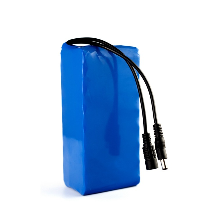 12V20ah solaire rue lumière rechargeable au lithium batterie 18650 batterie pack