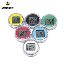 ZSDTRP Универсальный Мотоцикл Часы часы водонепроницаемый палка-на кронштейн для мотоцикла часы мото цифровые часы