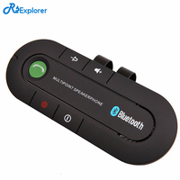 New Universal Speakerphone Wireless Bluetooth V4 1 Handsfree Car Kit MP3 Music Player For Sun Visor