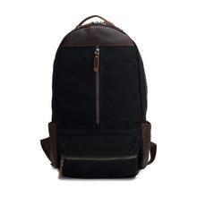 YISHEN Fashion Korean Style Men Backpack Male Leisure Travel Rucksack Large Capacity Canvas Simple Men Shoulder Bags MS2034