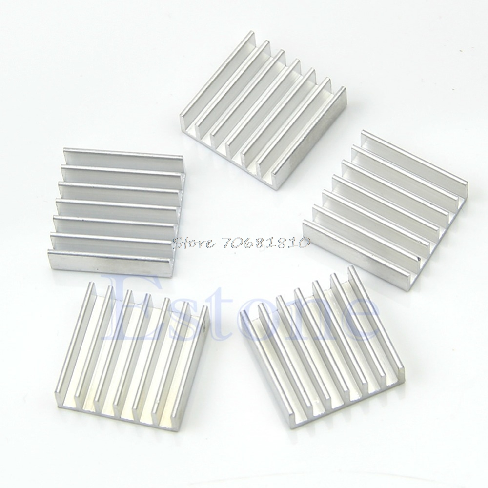 все цены на 5Pcs/pack Aluminum Heat Sink For Memory Chip IC 14*14*6mm -R179 Drop Shipping онлайн