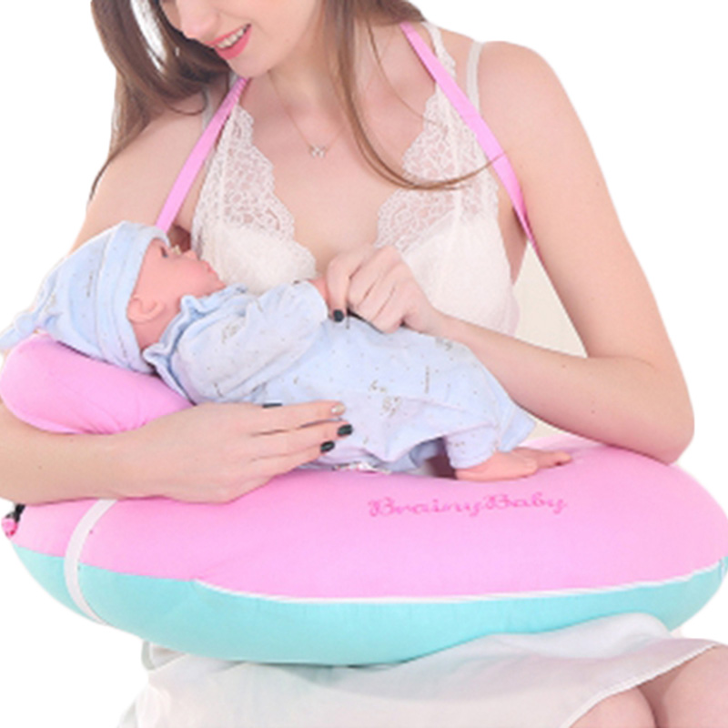 Nursing Pillow Breastfeeding Pillows Baby Head Protection Breastfeeding Cushion U-Shaped Infant Cuddle Pillow for Baby Feeding baby nursing pillows soft infant baby safe u shaped pillow head neck support protection newbron cotton cushion 3pcs set