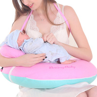 U Shape Mom Breastfeeding Pillows Baby Head Protection Nursing Pillow Infant Cuddle Feeding Cushion Baby Bedding