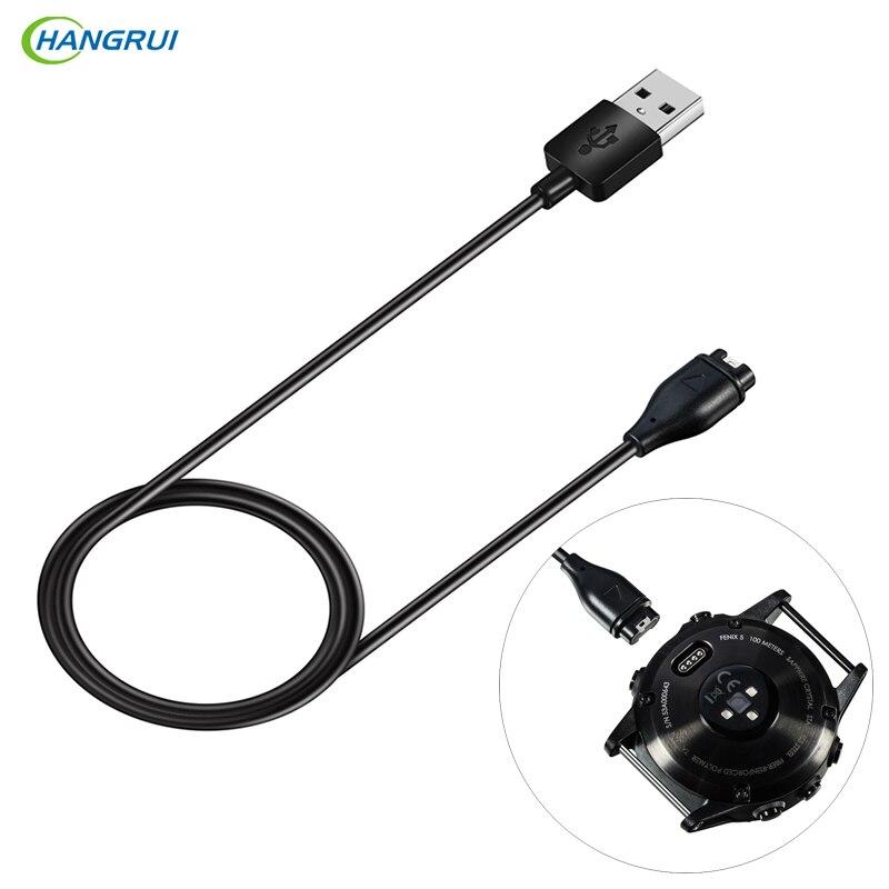 Hangrui caricatore USB Per Garmin Fenix 5 5 s 5X forerunner 935 di Smart watch TPE Veloce di Ricarica Dock Cavo di Dati cavo di linea Per Fenix 5x
