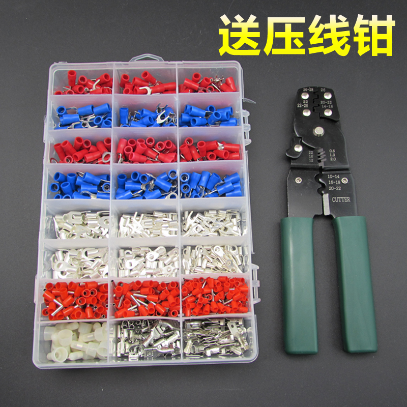 Cold terminal terminals pre-insulated terminals tube terminals combination package 24 in 1 1000 428 10t 19t 20mm front engine sprocket for stomp ycf upower dirt pit bike atv quad go kart moped buggy scooter motorcycle
