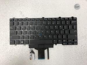 Image 1 - New laptop keyboard for DELL Latitude E5450 E5470 E7450 E7470 US layout with backlit keyboard