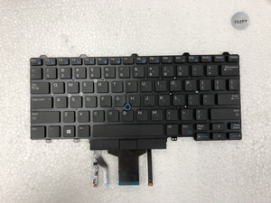 Image 1 - Nieuwe laptop toetsenbord voor DELL Latitude E5450 E5470 E7450 E7470 US layout met verlicht toetsenbord