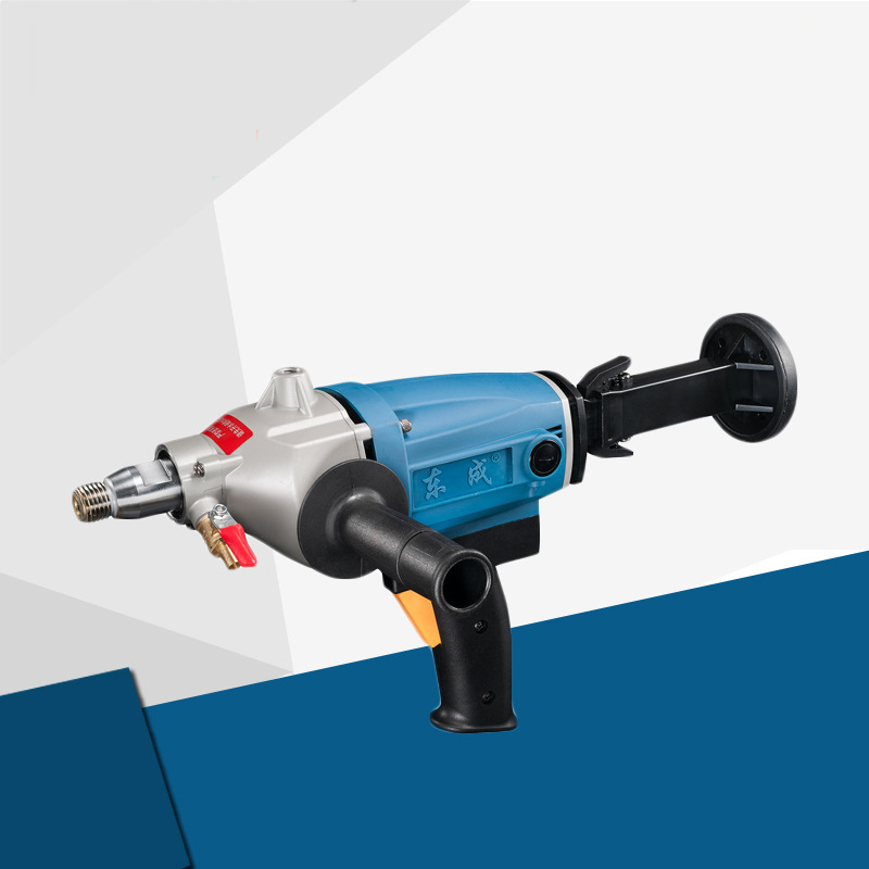 цена на Hand-held 160mm Diamond Drill With Water Source 1800W Concrete Core Drill 160mm Diamond Core Drill Electric Drill