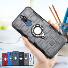 mobile Case For Huawei MATE 10 LITE Luxury Shockproof TPU + PC Phone Cover Case For Huawei Y5 Y6 Y9 2018 P20 Lite Pro Honor 10(China)