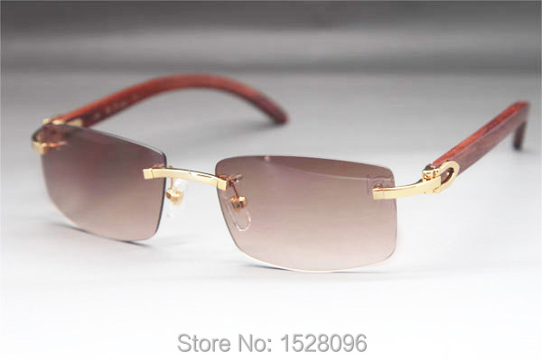 online glasses 0ql2  Wholesale Design Rimless Sunglasses Vogue Wooden Men`s Eyewear CT3524012 Glasses  OnlineChina