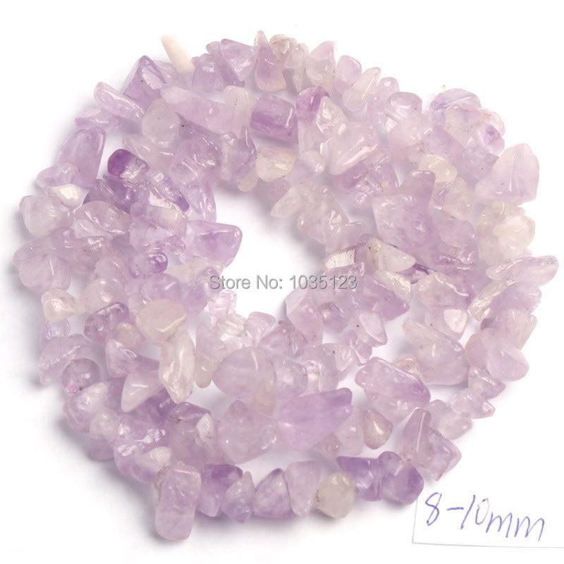 Gratis forsendelse 5-8mm Naturlig 18 Type Materiale Stone Freeform - Mode smykker - Foto 3