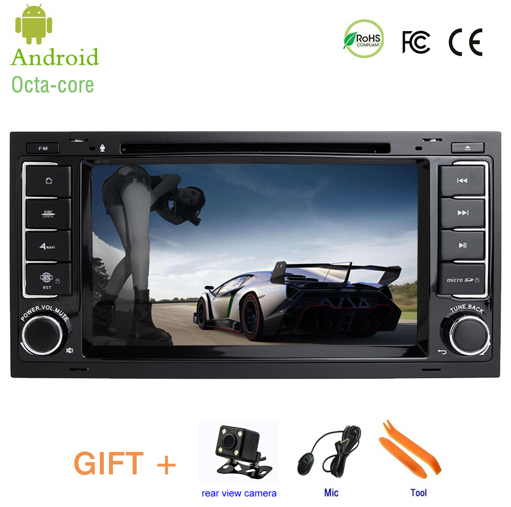 Car Head Unit for For VW Volkswagen Touareg T5 Transporter Multivan,Android 8.0 Car DVD Player GPS Stereo Radio 7''IPS Screen