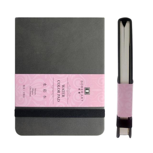 Dorerart Aquarel Notebook 50% Katoen Hand Schilderen Water Kleur Notebook 24 Vel 300gsm Boeken Voor Kantoor School Art Supplies