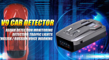 /english car-detector alert russia radar voice detector bands warning vehicle speed