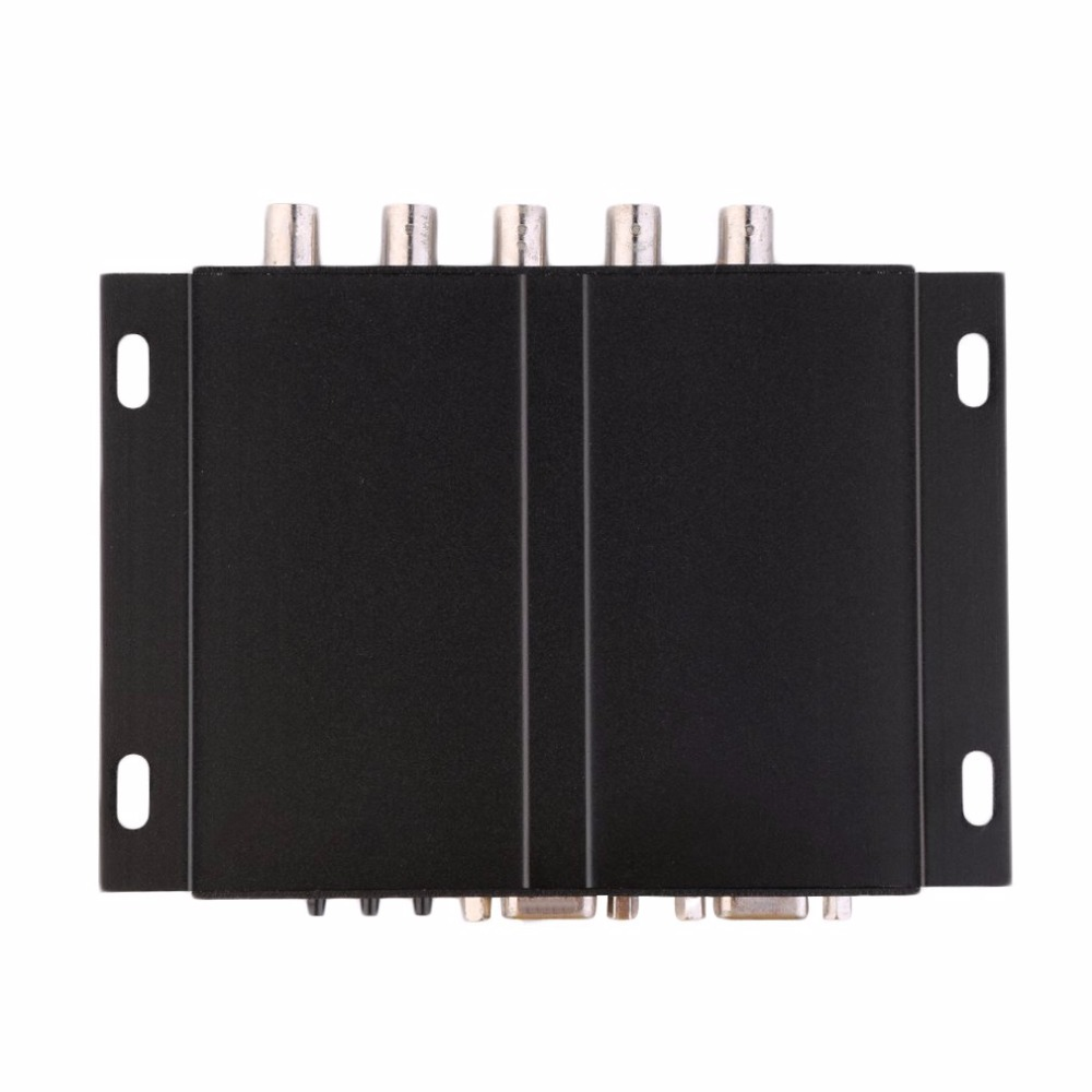 XVGA коробка RGB RGBS RGBHV MDA CGA EGA на VGA промышленный монитор видео конвертер с США штекер Адаптер питания черный