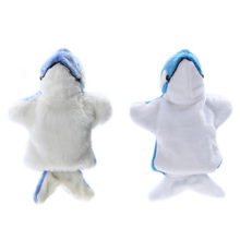 1 Pc Cute Dolphin Hand Plush Baby Kids Developmental Plush Doll Toy Baby Child Hand Puppet Kids Festival Gift