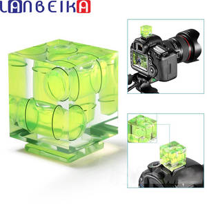 LANBEIKA 3/2-Axis Hot-Shoe DSLR Photography Pentax/sony Bubble-Spirit-Level for Fixed