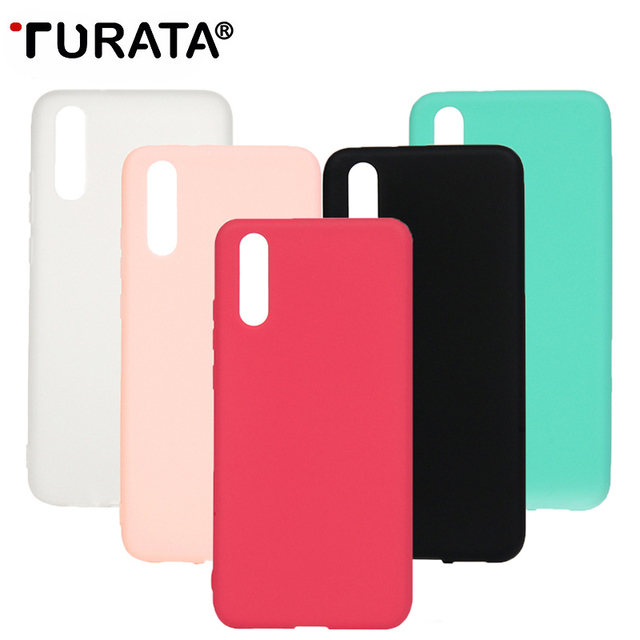 premium selection c5092 6956d US $1.61  TURATA TPU Soft Cases for Huawei P20 P20 Pro Case Slim 360 Candy  Color Silicon Back Cover for Huawei P20 P20 Pro Case-in Half-wrapped Case  ...