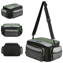 LIXADA Fishing Tackle Box Bag Multifunctional Outdoor Fishing Reel Gea