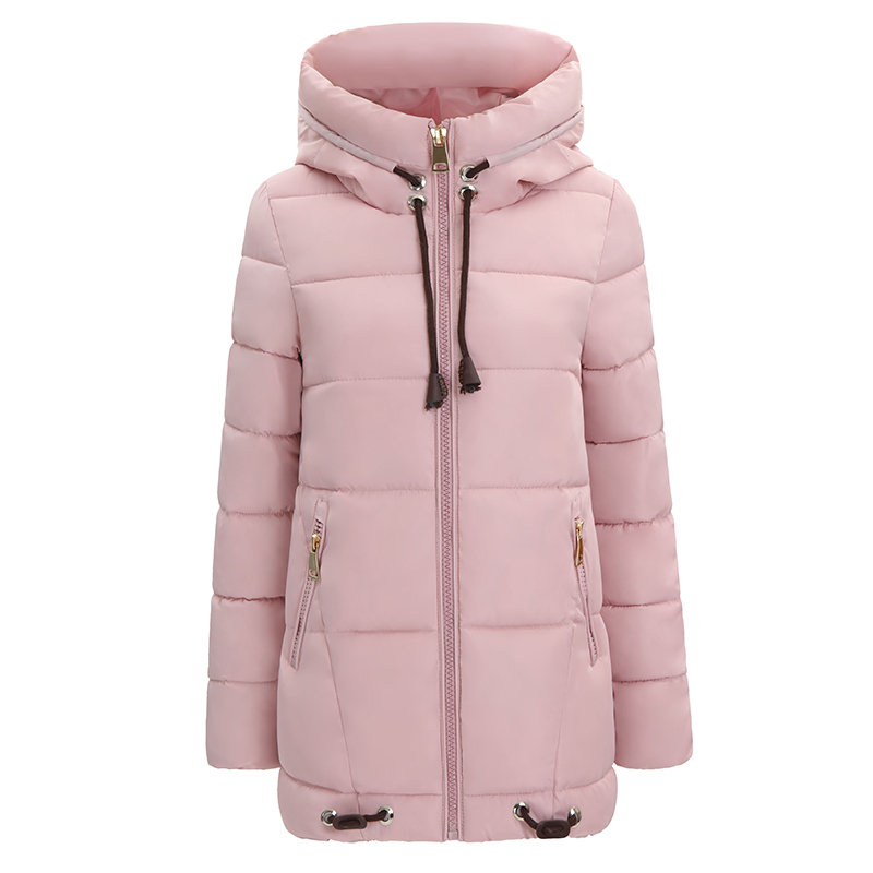 Winter Women Long Slim Hooded Jackets 2017 NEW Wadded Female Parkas High Quality Warm Cotton-padded Coats Ladies Outwears YP0421 winter cotton coats woman new women thicken long wadded jackets fashion ladies winter warm slim cotton parkas overcoat h4625