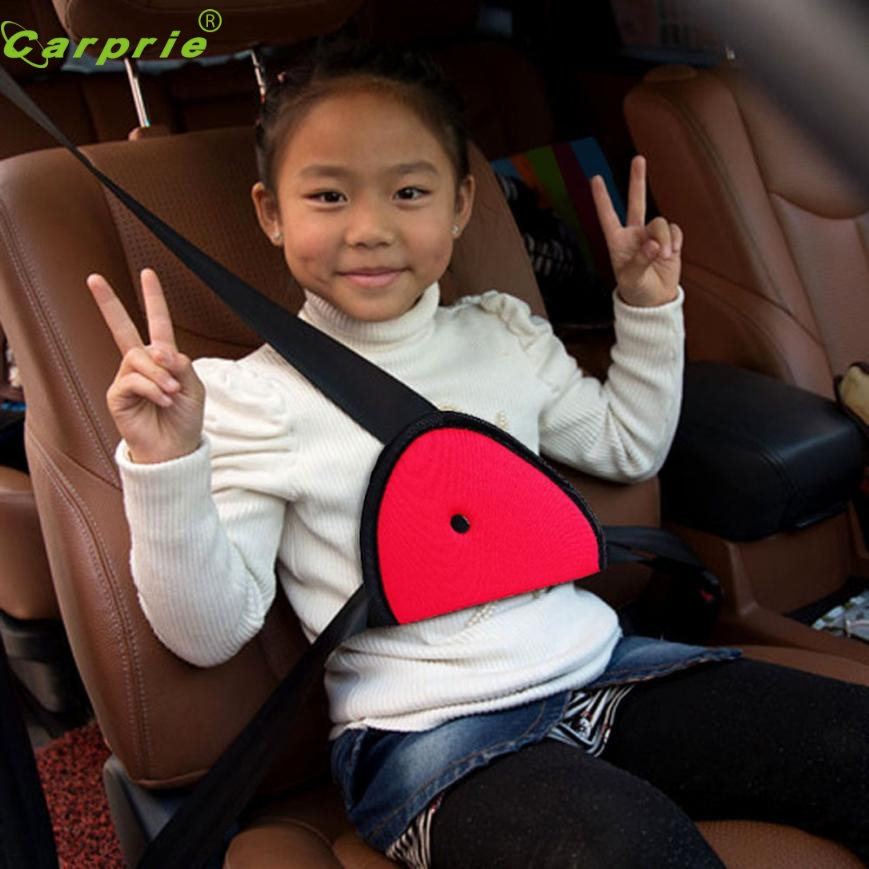 New Arrival Children Car Safety Cover Strap Adjuster Pad Harness Seat Belt ClipRED Oct10