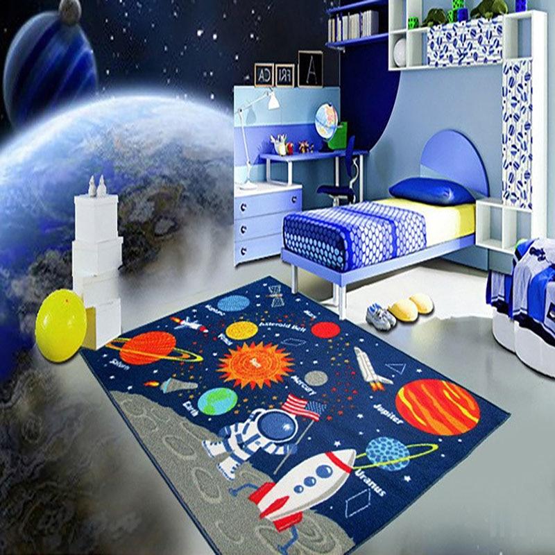 Tapis de jeu de bébé de bande dessinée infantile tapis de salon enfants tapis de chambre à coucher couverture écologique