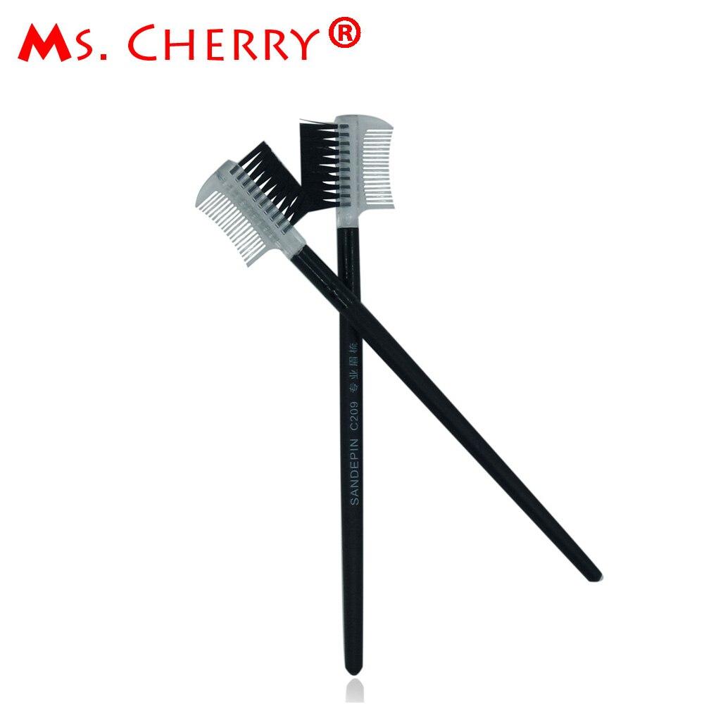 1 PC Eyebrow Makeup Brush & Tools Squirrel Hair Brush Wood Handle Make Up Accessories MT024