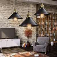 Vintage Decke Licht Retro Loft Industrie Edison-birne Metall Licht Amerikanischen Stil Lampe Hängen Leuchten